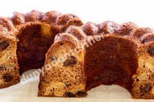 Şekersiz Kuru Üzümlü Kek