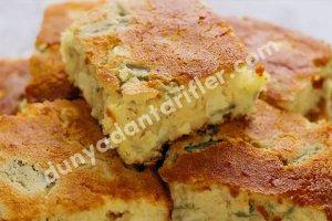 Fesleğenli ve Kırmızı Biberli Mısır Ekmeği