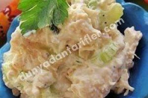 Kremalı Tavuk Salatası Tarifi