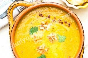 Baharatlı Balkabağı ve Patates Çorbası Tarifi