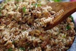 Güneyin Kirli Pilavı Tarifi - Southern Dirty Rice Tarifi