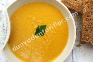 Portakallı Mercimek Çorbası Tarifi