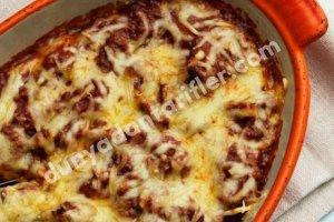 Pesto Soslu Peynirli Fırında Tavuk Tarifi